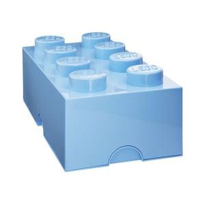 Jasnoniebieski pojemnik prostokątny LEGO®