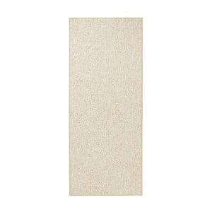 Kremowy dywan BT Carpet Wolly, 80x200cm