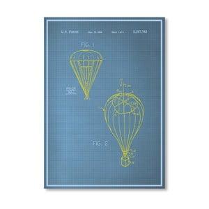 Plakat Parachute, 30x42 cm