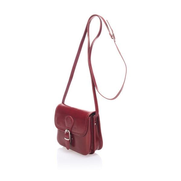 Skórzana torebka Shray, czerwona