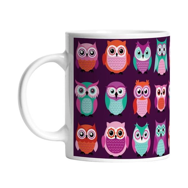 Ceramiczny kubek Owl Friends, 330 ml