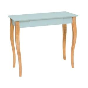 Jasnoturkusowe biurko Ragaba Lillo, dł. 85 cm
