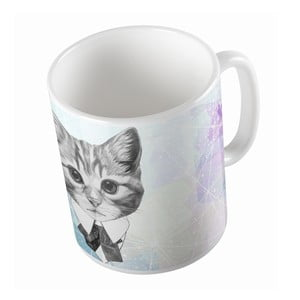 Ceramiczny kubek Butter Kings Cat With A Bow, 330 ml