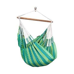 Krzesło-Hamak  Carolina, zeleno-niebieski