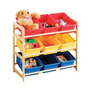 Półka z koszykami Colorful