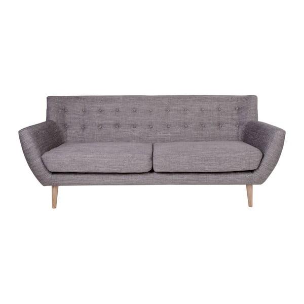 Szara sofa 3-osobowa House Nordic Monte