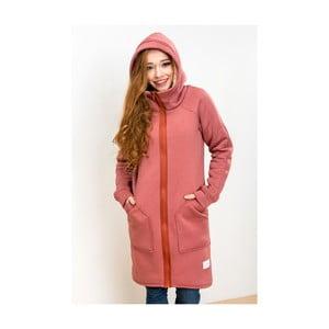 Czerwona kurtka Lull Loungewear Attitude, rozmiar M