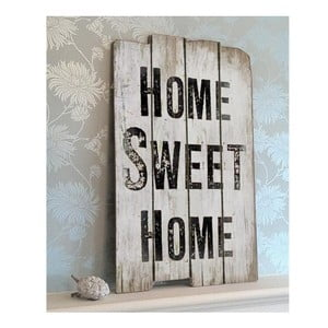 Drewniana tablica Home sweet home 30x45 cm