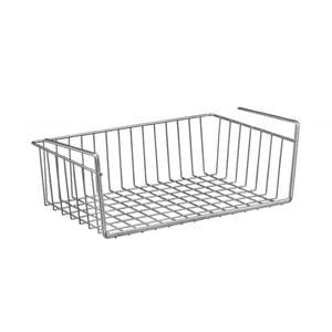 Podwieszany koszyk pod półkę Metaltex Basket, 30x26 cm