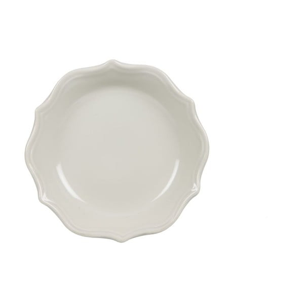 Komplet 18 talerzy ceramicznych Bologne Crema
