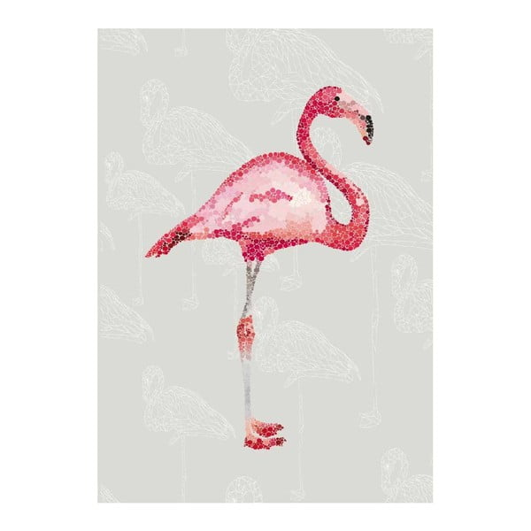 Plakat Le Flamingo, A3