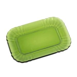 Zielony półmisek szklany Kaleidos