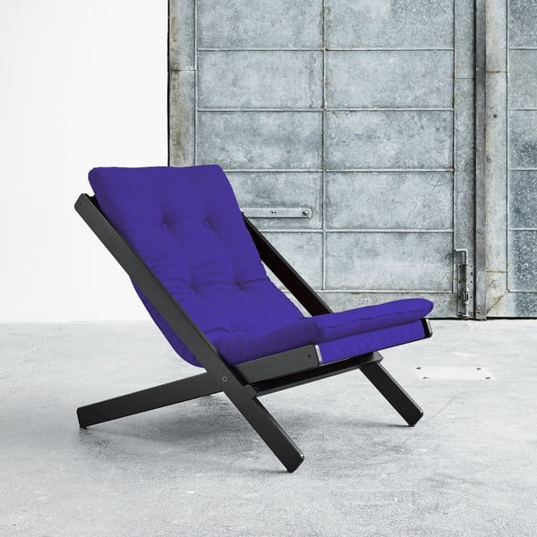 Fotel składany Karup Boogie Black/Violet