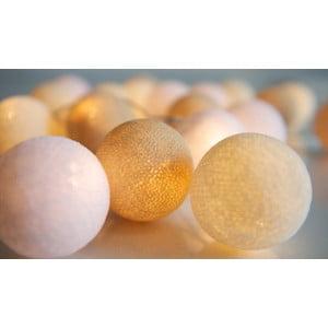 Girlanda świetlna Irislights Creamy White, 35 lampek