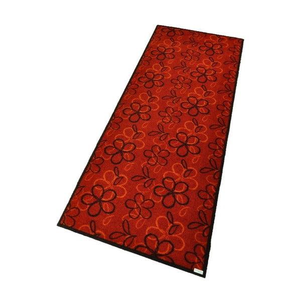 Wycieraczka Floral Red, 67x180 cm