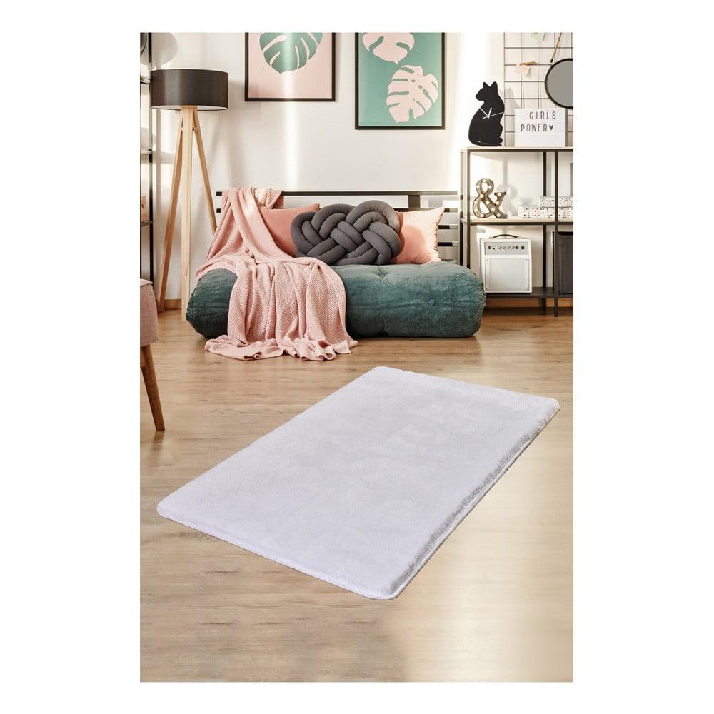 Biały dywan Milano, 140x80 cm