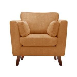 Pomarańczowy fotel Jalouse Maison Elisa