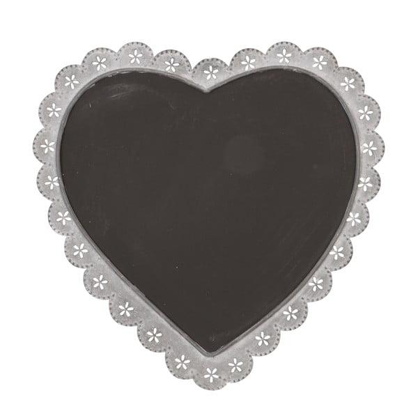 Tablica w kształcie serca Clayre & Eef