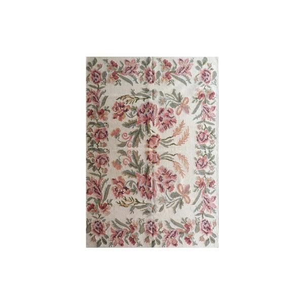 Ręcznie tkany dywan Kilim Flowers 155, 160x230 cm