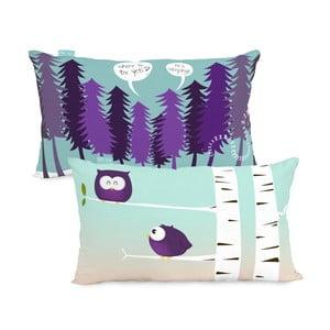 Bawełniana poszewka na poduszkę Mr. Fox Yeti, 50 x 30 cm