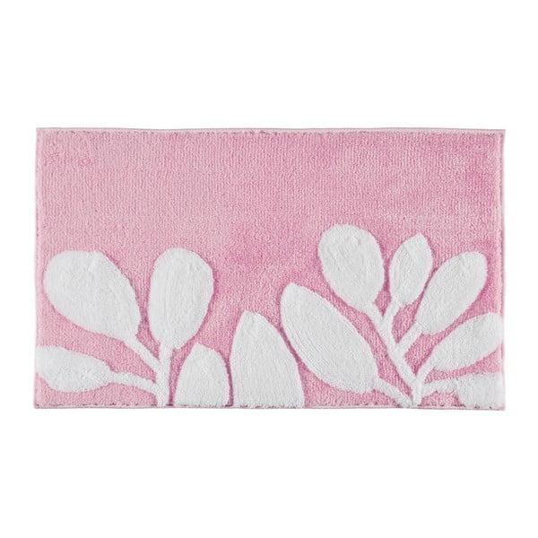 Dywanik łazienkowy Limra Pink, 70x120 cm