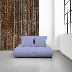 Sofa rozkładana Karup Shin Sano Natural/Blue Breeze