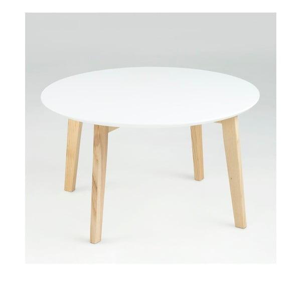 Stolik Molina ⌀ 80 cm, biały