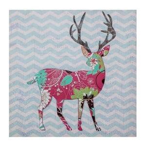Obrazek 3D Ewax Red Reindeer, 40x40 cm