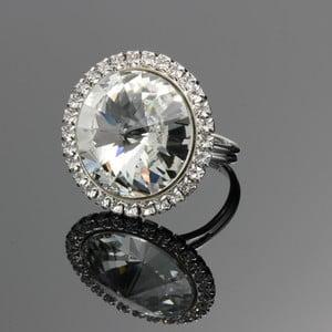 Pierścionek Crystal ze Swarovski Elements, rozmiar uniwersalny