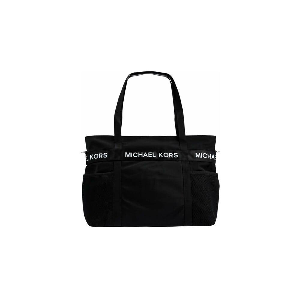 2f847984df972 Czarna materiałowa torebka Michael Kors The Michael | Bonami