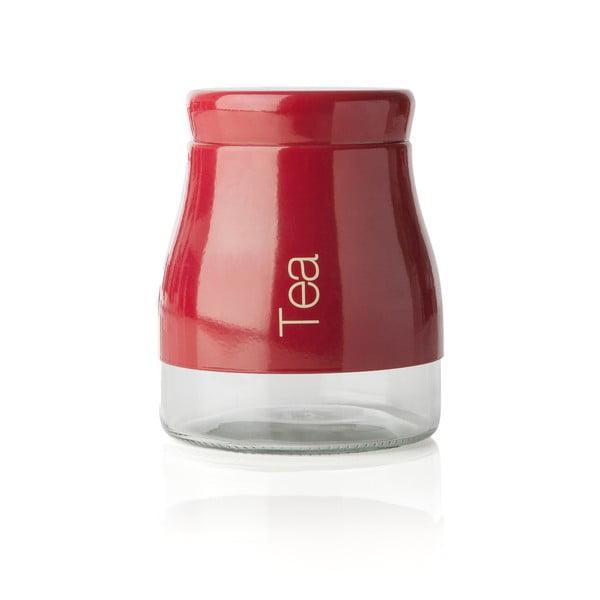 Czerwony pojemnik na herbatę Sabichi Tea, 700 ml