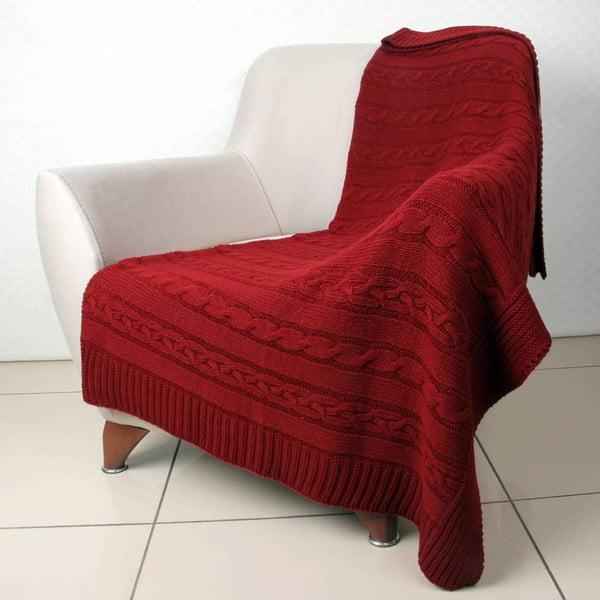 Czerwony   koc Hanila