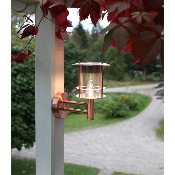 Lampa na zewnątrz Solar Energy Wall Lantern Rose