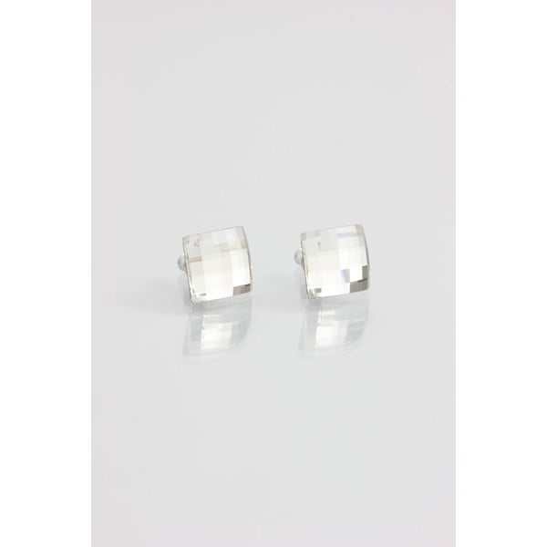 Kolczyki Swarovski Crystals Laura Clear, 10x10 mm