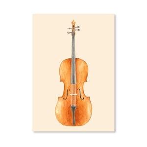 Plakat Cello, 30x42 cm