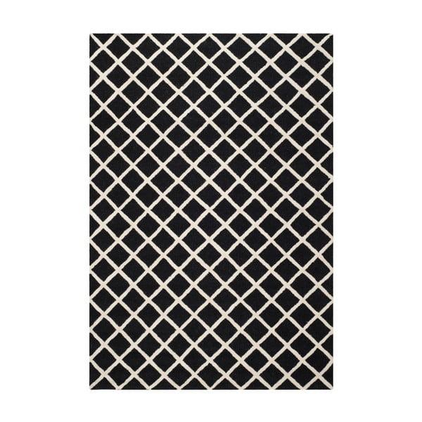 Dywan wełniany Sophie Black, 182x274 cm