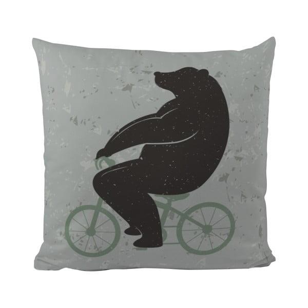 Poduszka Butter Kings Bear and Bike, 50x50 cm
