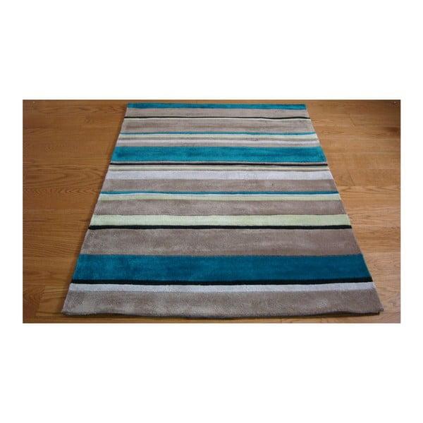 Dywan Broad Stripes Teal, 120x170 cm