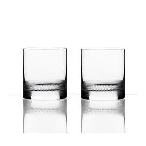 Zestaw 2 szklanek do whiskey - František Vízner, 320 ml