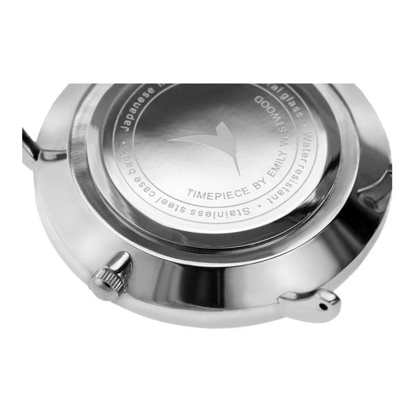 Zegarek damski z paskiem ze stali nierdzewnej w srebrnym kolorze Emily Westwood Top