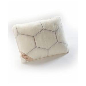 Poduszka wełniana Royal Dream Cashmere Hex, 50x60 cm