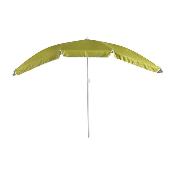 Zielony parasol odpowiedni na wąskie balkony Esschert Design Magic