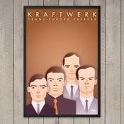 "Plakat ""Kraftwerk"", 29,7x42 cm"