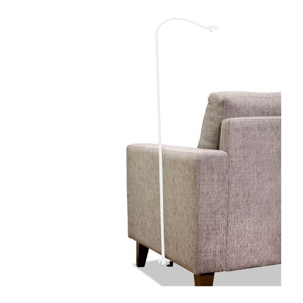 Lampa przytwierdzana do fotela Symbios, biała