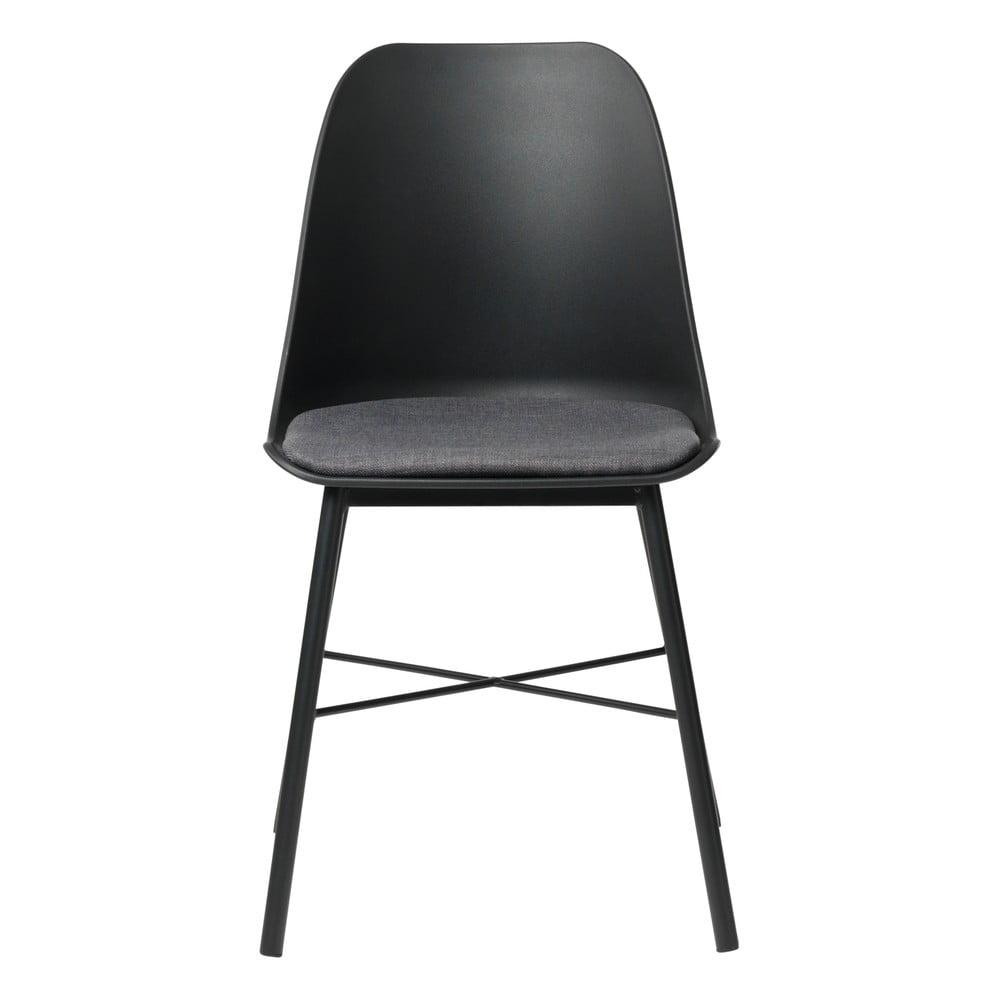 Czarne krzesło Unique Furniture Whistler