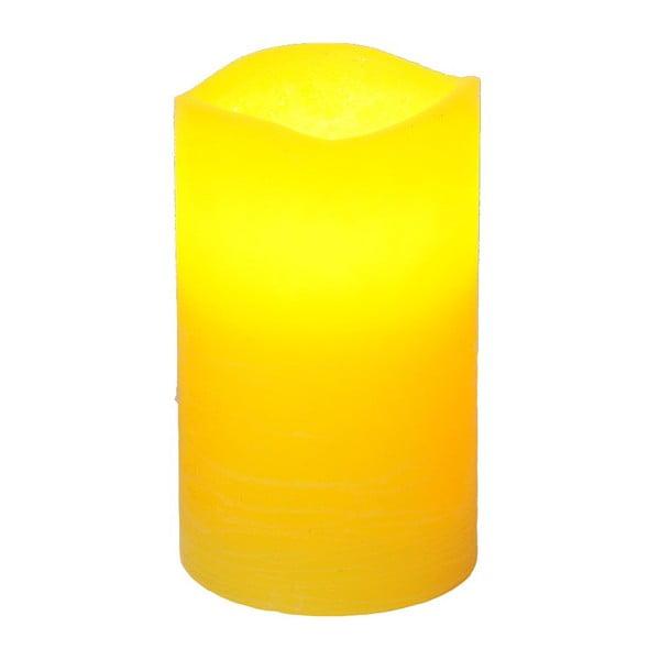 Świeczka LED Real Yellow, 12 cm
