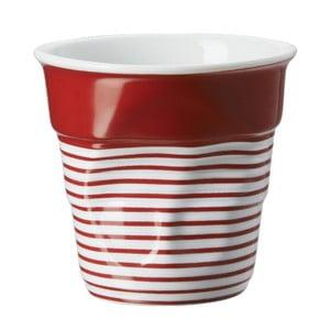 Filiżanka na capuccino Froisses 18 cl, czerwono-biała