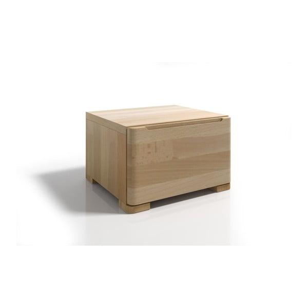 Szafka nocna z drewna bukowego z szufladą SKANDICA Sparta