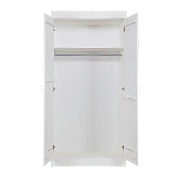 Szafa dwudrzwiowa Locker, biała