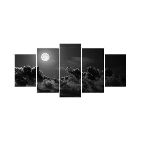 Wieloczęściowy obraz Black&White no. 83, 100x50 cm